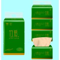 竹浆本色纸竹爱竹纤维纸巾厂家招卫生纸代理