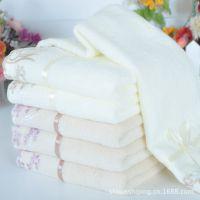 毛巾厂家供应纯棉吸水情侣毛巾 创意高档印花婚庆毛巾 量大从优
