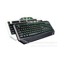 正品冰兽K5-1白色版三色背光审判者黑暗骑士游戏键盘机械手感