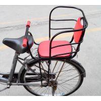 儿童自行车电动车山地车座椅宝宝安全座椅前后置座椅加高靠背