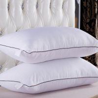 厂家直销批发宾馆配套床上用品枕头一件代发保健护颈椎纯棉枕芯