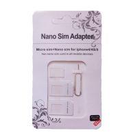 厂家批发sim卡套 苹果4/5手机卡托 卡槽 卡贴 iphone5 4S还原卡套