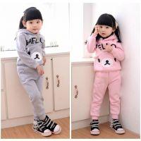 厂家低价批发韩版童套装批发时尚儿童装卫衣套装