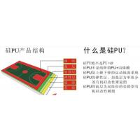 供应湖南湖北四川硅qu球场材料厂家,星邦环保型硅pu