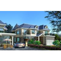 带地下室美观砖混二层农村房屋设计图17.7x15.5米