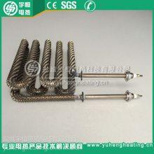 高温烘箱炉用不锈钢翅片加热管 异型翅片式电加热管 散热片发热管