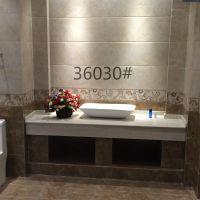 供应广东不透水釉面砖厨卫内砖300*600大理石内墙瓷砖批发猛龙一号36030