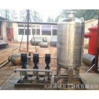 不锈钢供水设备/不锈钢无负压供水设备/不锈钢压力罐