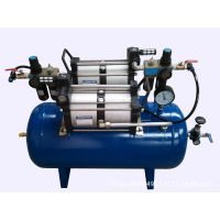 压缩空气增压设备 提高车间起源空压机的压力