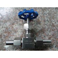 J23W-64P不锈钢针型阀,针形截止阀,针型仪表阀,压力表阀门