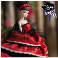 正品迪士尼可儿娃娃 6100 关节体米妮女孩芭比洋娃娃玩具套装礼盒