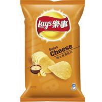 台湾进口食品  樂事香濃起司76g 12包/箱