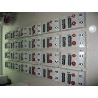 富森ZJ/FSEN工业防水航空视频电源插座箱380V63AIP44 手提式绝缘插座检修箱