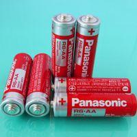 供应 Panasonic 松下 5号 AA R6 五号 红色碳性电池 工业装