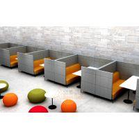供应众晟家具FSF-125布艺商务休闲洽谈沙发