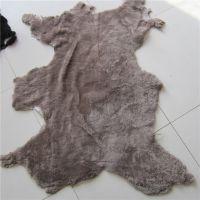 厂家源头供应羊剪绒鞋里皮  各种颜色革板服装用皮 板质柔软 包邮