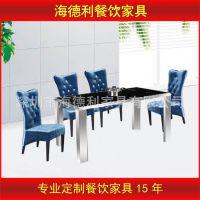 热卖 2015热销西餐厅餐桌餐椅大理石火锅桌奶茶店餐桌餐椅批发