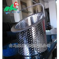 不锈钢过滤桶 手提过滤桶 篮形过滤桶 蚀刻过滤桶 海口过滤桶