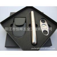 供应批发3件套雪茄工具套装 高档商务礼品