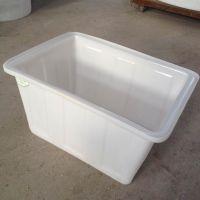 透明100L收纳箱塑料储物箱加厚大号有盖玩具整理箱衣服收纳盒牛筋