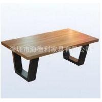 工业风格做旧桌子 loft实木桌子 美式乡村创意茶几