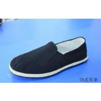 厂家直供78式黑布鞋 军板鞋