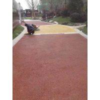 无锡瑞石地坪供应钱桥路面装饰地坪透水、透心情的彩色透水混凝土路面