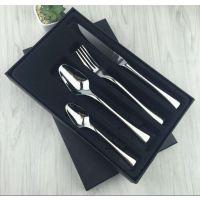 供应星级不锈钢餐具 不锈钢刀叉勺 创意礼品 酒店刀叉套装 不锈钢勺子 广州刀叉勺