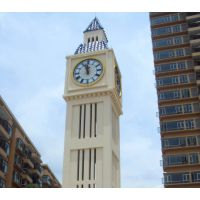 城市广场景观钟 订做建筑大钟 北京建筑钟生产厂家 康巴丝钟表挂钟