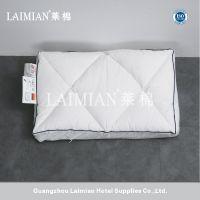 广州莱棉酒店用品 高弹性耐用内填羽绒记忆棉枕芯 学生护颈枕头 特价