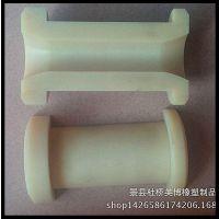 尼龙轴套加工异形尼龙塑料件定做、半圆轴套尼龙棒机加工定做处理