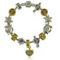 韩国纯手工串珠银饰手链 简约时尚女款DYI自由组装风格手链