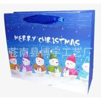 厂家定制各类纸袋 圣诞主题纸袋 礼品纸袋 手提纸袋印刷加工