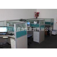 深圳办公家具厂家直销 办公屏风办公桌 办公屏风订做 多人位屏风