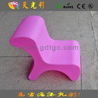 【质轻耐用户外家具】幼儿园儿童休闲靠椅 PE滚塑工艺宝宝凳子
