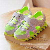 13711春款儿童运动鞋女童休闲鞋网鞋板鞋男童凉鞋一件代发批发