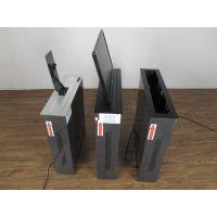 河南政府单位会议桌面24寸皮带显示器升降器隐藏式