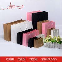 供应现货现货手提纸袋 牛皮纸袋礼品袋服装纸袋批发 印刷LOGO