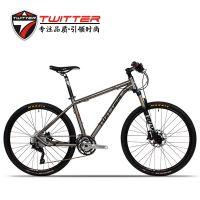 山地自行车TW-钛合金山地车禧马诺XT变速30速油刹自行车