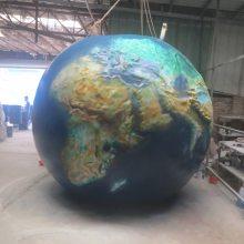 河北供应大型地球仪雕塑树脂纤维地球仪校园雕塑玻璃钢仿真地球仪厂家