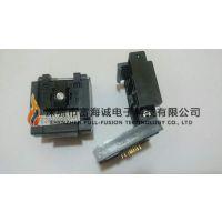 Enplas QFN-32(40)BT-0.5-01 IC插座带定位柱