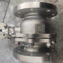 FQ41F46-16C 25/80 衬氟放料球阀(FQ41F46)、衬氟放料阀结构图、衬氟放料阀安
