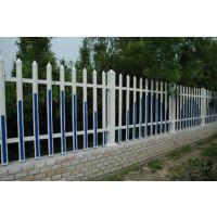 供应鸿宇筛网PVC草坪护栏绿化带围栏园林塑钢护栏