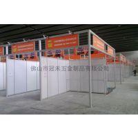 年货展销会摊位 自主设计特色标摊特装展位搭建 八棱柱方柱展览摊位