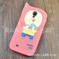 供应新款罗马尼韩版森林家族系列 立体硅胶多型号彩色手机保护套壳