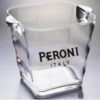 【厂价直销】塑料冰桶,方形亚克力啤酒桶,透明 耐摔香槟桶