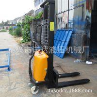 半电动堆高车载重1.5吨升高2.5米电瓶叉车 电动堆垛机 电动堆高机