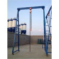博毅弘移动起吊小龙门架,门式移动龙门吊架,龙门架1-5吨现货供应