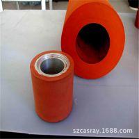 深圳生产厂家 沙井松岗 热转印烫金 异形硅橡胶辊轮 进口材料质