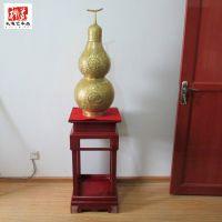 纯铜大葫芦摆件 镇宅护家提升运势铜葫芦摆件 风水铜器铜葫芦摆件